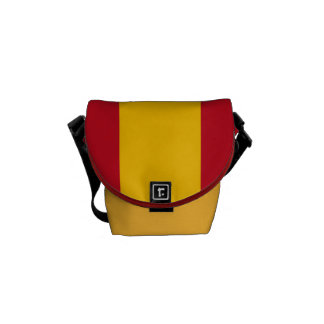 National Flag of Spain Messenger Bag