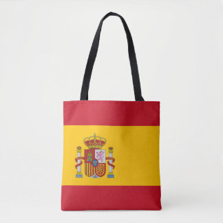 National Flag of Spain Tote Bag