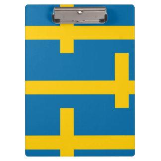 National Flag of Sweden Clipboard