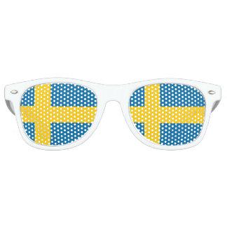 National Flag of Sweden Retro Sunglasses