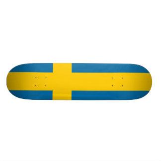 National Flag of Sweden Skateboards