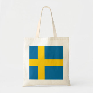 National Flag of Sweden Tote Bag