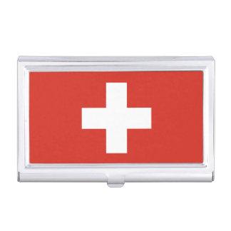 National Flag of Switzerland Business Card Holder