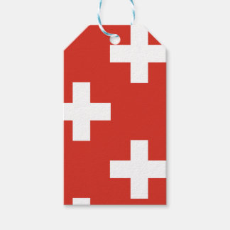 National Flag of Switzerland Gift Tags