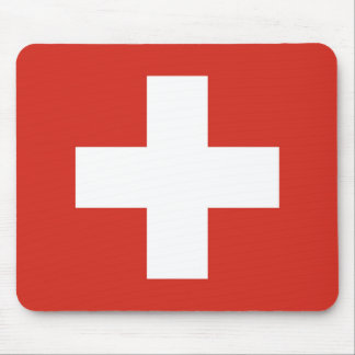 National Flag of Switzerland Mouse Pad