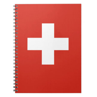 National Flag of Switzerland Notebooks