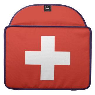 National Flag of Switzerland Sleeve For MacBook Pro