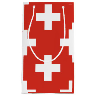 National Flag of Switzerland Small Gift Bag