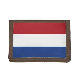 National Flag of the Netherlands, Holland, Dutch Trifold Wallet