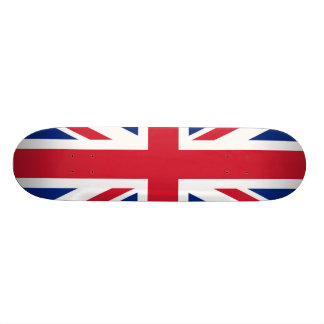 National Flag of the United Kingdom UK, Union Jack 19.7 Cm Skateboard Deck