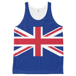 National Flag of the United Kingdom UK, Union Jack All-Over Print Singlet
