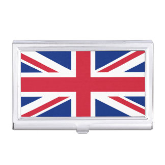 National Flag of the United Kingdom UK, Union Jack Case For Business Cards