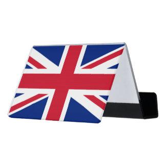 National Flag of the United Kingdom UK, Union Jack Desk Business Card Holder