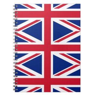 National Flag of the United Kingdom UK, Union Jack Notebook