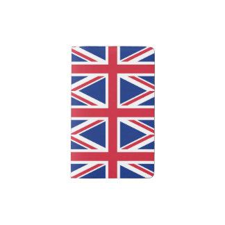 National Flag of the United Kingdom UK, Union Jack Pocket Moleskine Notebook
