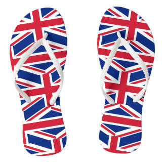 National Flag of the United Kingdom UK, Union Jack Thongs