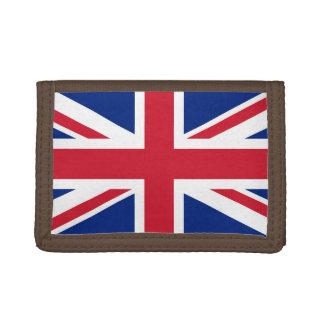 National Flag of the United Kingdom UK, Union Jack Trifold Wallets