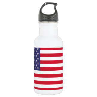 National Flag of the United States of America 532 Ml Water Bottle