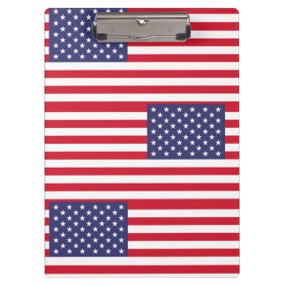 National Flag of the United States of America Clipboard