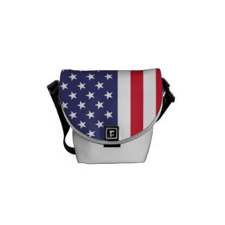 National Flag of the United States of America Courier Bags
