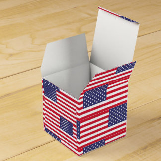 National Flag of the United States of America Favour Box