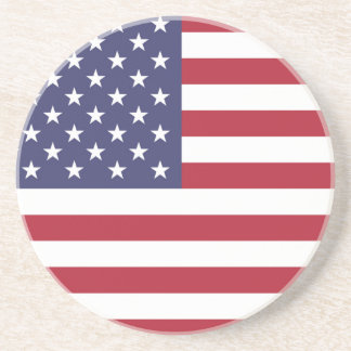 """National Flag of the United States of America USA Coaster"