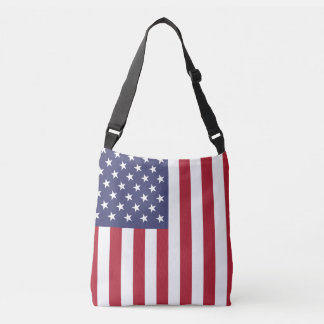 """""""National Flag of the United States of America USA Crossbody Bag"""