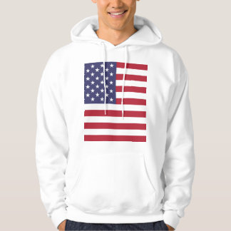 """""""National Flag of the United States of America USA Hoodie"""
