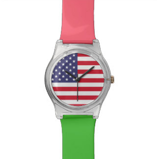 National Flag of the United States of America Watch
