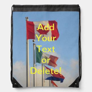"National Flags ""St. Maarten"" Backpacks"