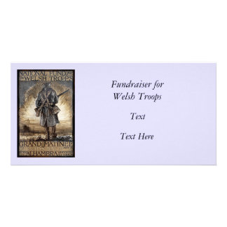 National Fundraiser for Welsh Troops Photo Greeting Card
