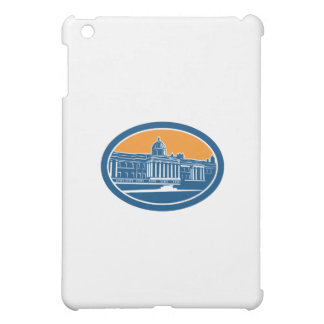 National Gallery London Building Retro Case For The iPad Mini
