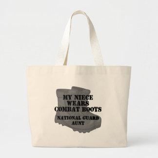 National Guard Aunt Nephew CB Jumbo Tote Bag