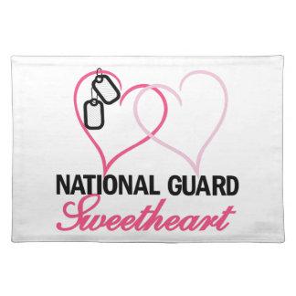 National Guard Placemat