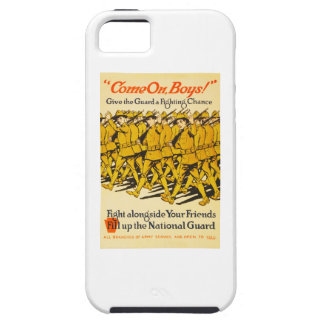 National Guard Come On Boys WWI Propaganda iPhone 5 Cases