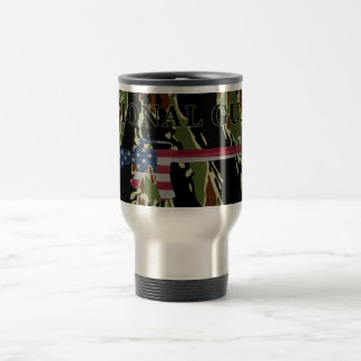National Guard M16 Travel Mug Tiger Stripe