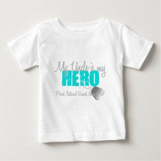 National Guard Niece Uncle Hero Tshirt