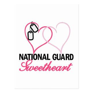 National Guard Postcard