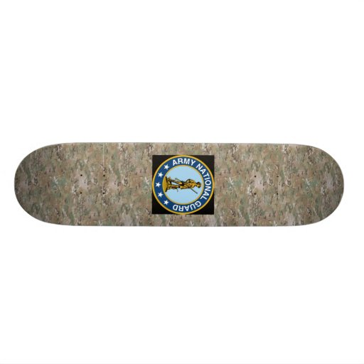 National Guard Custom Skate Board