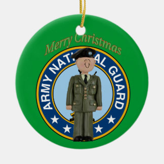 National Guard Soldier Christmas Ornament