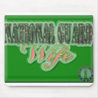 National Guard Wife Mouse Pad