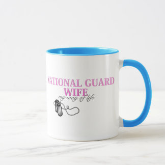 National Guard Wife, my way of life Mug