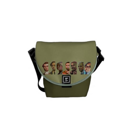 National Heroes Messenger Bags