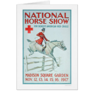 National Horse Show for the Red Cross (US00281) Greeting Card