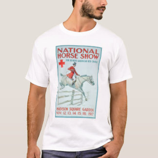 National Horse Show for the Red Cross (US00281) T-Shirt