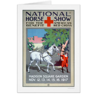 National Horse Show (US00272) Greeting Card