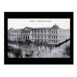 National Library, Madrid, Spain c1910 Vintage Post Card