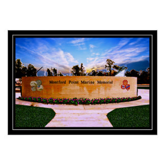 National Montford Point Marine Memorial Poster