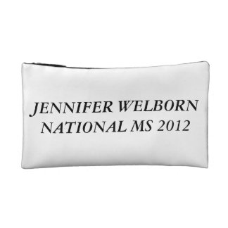 NATIONAL MS PAGEANTS MAKEUP BAG