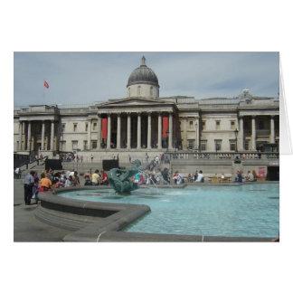 National Museum - Trafalgar Square Greeting Card